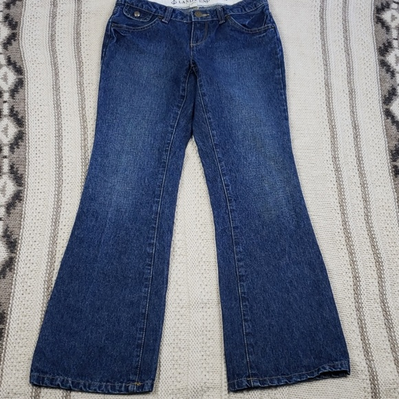 6691577715e Lands' End Bottoms | 220lands End 12 Jeans Bootcut Adjustable Waist ...